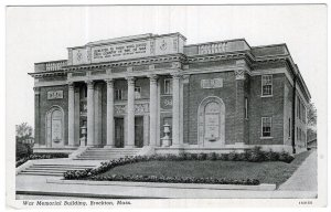 Brockton, Mass, War Memorial Building