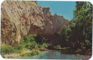 Natural Bridge La Prelie Creek Ayers State Park near Douglas
