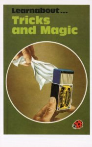 Magic Tricks Learn About Match Ladybird First Edition Book Postcard