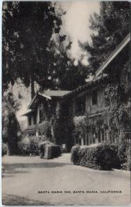 SANTA MARIA, California CA  Roadside  SANTA MARIA INN   c1940s  Postcard