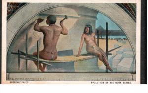 WASHINGTON D.C., 1900-1910's; Hieroglyphics, Evolution Of The Book Series, Mu...
