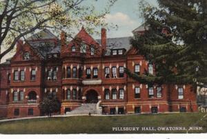 Minnesota Owatonna Pillsbury Hall 1914
