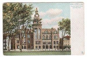 Court House New Haven CT 1907c Tuck postcard