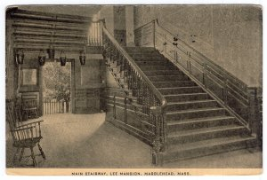 Marblehead, Mass, Main Stairway, Lee Mansion