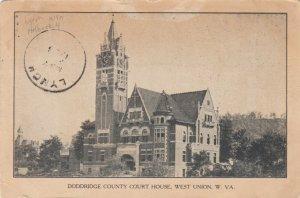 WEST UNION , West Virginia, 191908 ; Court House