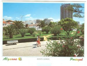 Portugal, Algarve, MONTE GORDO, used Postcard