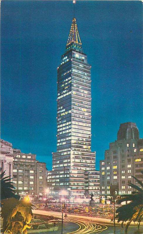 Mexico Tore Latinoamericana the tallest building El Mirador Observatory on top
