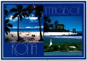 Hawaii Kona Magic Saands Beach Puuhonua O'Honaunau Temple and Lailua Wat...