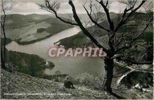 Postcard Modern Diemeltalsperre (souerland) blickvom eisenberg