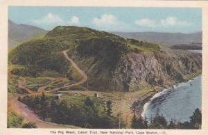 Canada Nova Scotia Cape Breton Cabot Trail Rig Wash