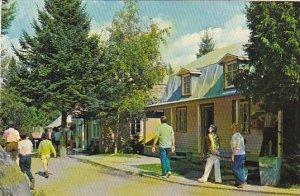 Canada La Rue Principale Street Scene Village de Seraphin Ste-Adele Quebec