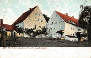 LPS13 Ephrata Pennsylvania The Cloisters Saal and Sister House Postcard