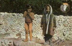 1909 AYPE Alaska Yukon Pacific Expo Seattle Philippines Children Igorotte PC