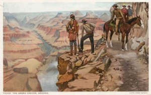Grand Canyon , Arizona , 00-10s ; Fred Harvey 79008
