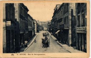 CPA  Bitche - Rue de Sarreguemines  (386393)