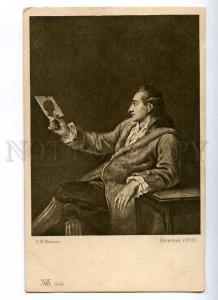 187793 GOETHE German WRITER by KRAUSS Vintage PC
