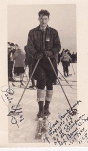 RP; Champion Skier , Rapallo , Italy , 1928