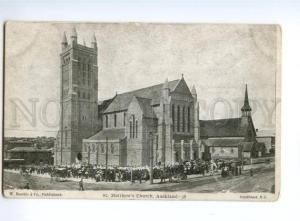 133051 NEW ZEALAND AUCKLAND St.Matthew's Church Vintage PC