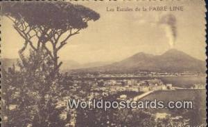 Fabre Line, France, Carte, Postcard Les Escales Fabre Line Les Escales