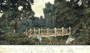 Rustic Bridge In Branch Brook Park Newark NJ 1908