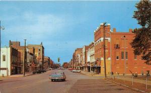Henderson Kentucky~Street Scene @ Business Section~Storefronts~1950-60s Cars