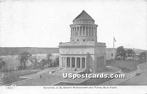 General US Grant Monument & Tomb New York City NY 1907