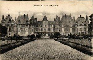 CPA Chateau d'EU - Vue prise du parc (199647)