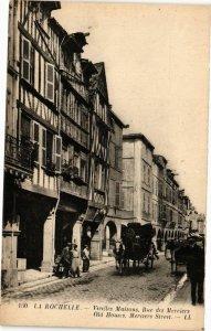 CPA La Rochelle-Vieilles Maisons Rue des Merciers (45232)