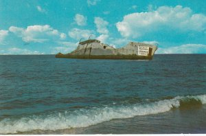 CAPE MAY POINT , New Jersey , 1950-60s ; Concrete Ship Atlantus