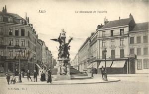 CPA Lille - Le Monument de Testelin (141816)