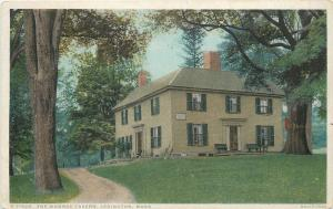 Lexington Massachusetts~Dirt Path up to Munroe Tavern~1910 Detroit Pub Co