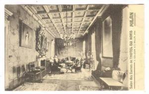MILAN , Italy, 00-10s; Salon des Dames de l'Hotel du Nord
