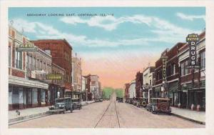 Broadway looking East, Centralia, Illinois,00-10s