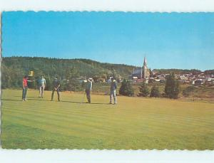 Pre-1980 GOLF SCENE Le Bic - St. Saint-Fabien - Rimouski Quebec QC p9995
