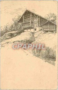 Old Postcard Vouga and Cie