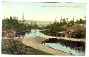 Outlet Lily Lake, Rockwood Park, St. John, New Brunswick, Canada, 1900-1910s