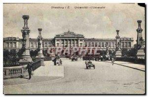 Old Postcard Strassburg Universite