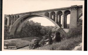 LUXEMBOURG, 1900-1910's; Pont Adolphe