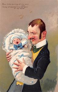 PFB~Proud Papa~One Little Darling~Baby All My Very Own~Noisy It Is!~Emboss~#5677