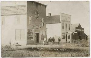 Seneca NE Jewish Drug Store Restaurant RPPC Postcard