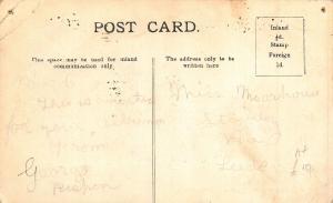 Bardsey Station Train Rail Postcard