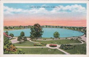 Florida Lake City Lake De Soto 1946