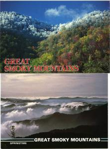 (2 cards) Great Smoky Mountains National Park - Tennessee