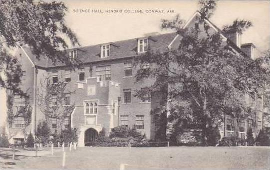 Arkansas Conway Hendrix College Science Hall Artvue