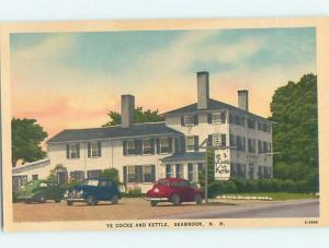 Unused Linen RESTAURANT SCENE Seabrook New Hampshire NH hk4893