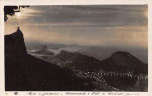 Brasil Rio de Janeiro Corcovado e Pao de Acucar