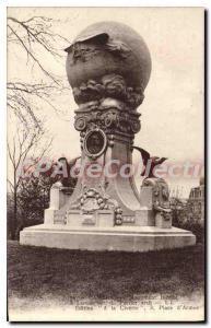 Old Postcard Cambrai monument Blriot