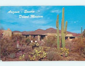 Pre-1980 MUSEUM SCENE Sonora Ghost Town - Near Ray & Superior Arizona AZ ho9675