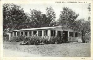 Chittenango Falls NY Ye Olde Mill c1920 Postcard