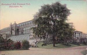 Pennsylvania Philadelphia Horticultural Hall Fairmount Park 1918